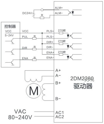 典型接线图/外形尺寸(单位:mm)